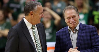 Mark Dantonio and Tom Izzo