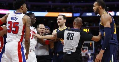 Rudy Gobert vs. Detroit Pistons