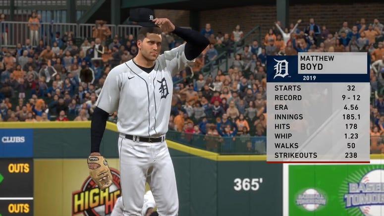 MLB The Show Simulations