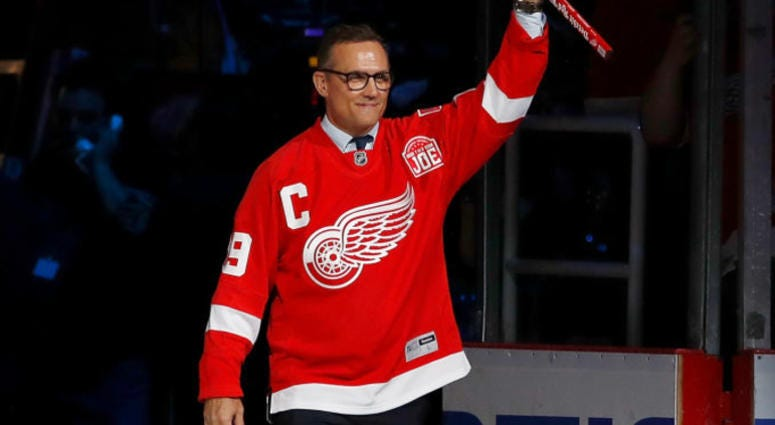 WATCH AND LISTEN LIVE: Steve Yzerman Expected To Become Red Wings' GM