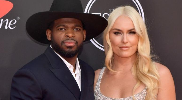 P.K. Subban and Lindsey Vonn get engaged