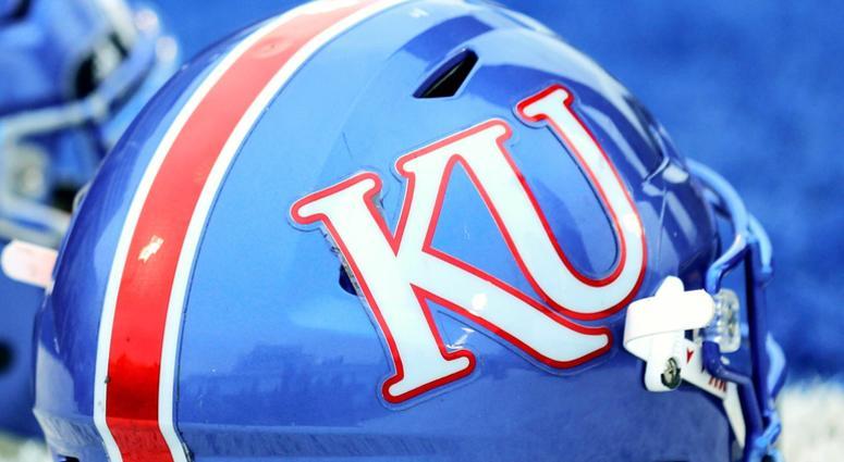 Kansas Football Helmet