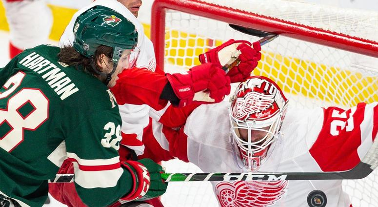 Staal Zuccarello Lead Wild Past Red Wings 4 2 97 1 The Ticket