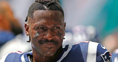 Antonio Brown, New England Patriots