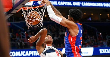 Beal Leads Wizards Past Drummond, Depleted Detroit 115-99