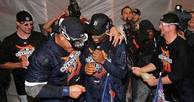 2012 ALCS Celebration