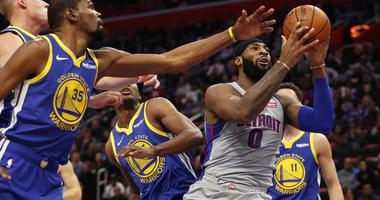 """Kevin Durant Heaps Praise On 'Dominant' Drummond: """"He's Fun To Watch"""""""