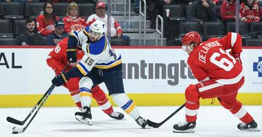 Slumping Wings Pick Up Fabbri From Blues As Yzerman Stays Active