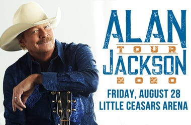 Alan Jackson Tour 2020 - Little Caesars Arena