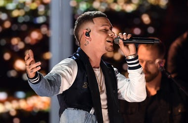 Kane Brown Performing at the 54th Academy Of Country Music Awards