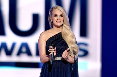 Carrie Underwood Onstage at the 54th Academy Of Country Music Awards