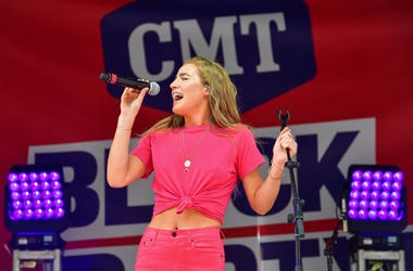 Ingrid Andress Performs at the 2019 CMT Block Party