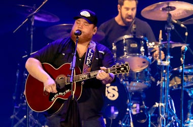 Luke Combs Performs at ATLIVE Concert 2019