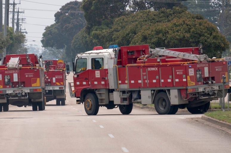 Fire Truck Onsite in Australia