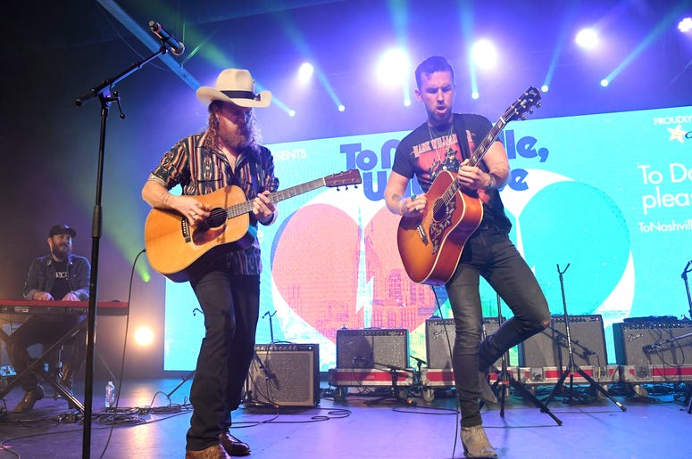 Brothers Osbourne Perfom at To Nashville, With Love A Concert Benefiting Local Tornado Relief Efforts