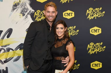 Brett Young and His Wife Taylor at the 2018 CMT Music Awards