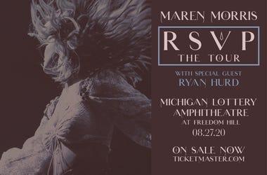 Maren Morris announces Detroit show