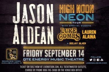 Jason Aldean High Noon Neon Tour - OSN