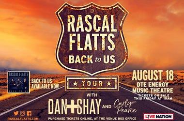 Rascal Flatts On Sale Friday