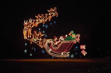 Wayne County Lightfest Holiday Light Display in Westland