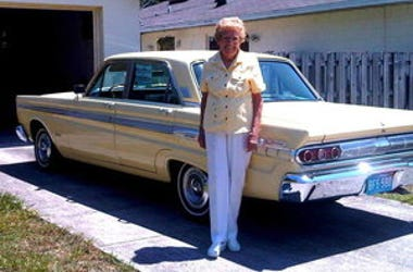 After 567,000 Miles And 48 Years Woman Parks Her Chariot