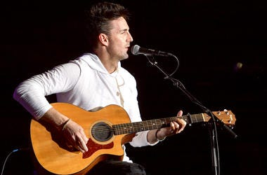 Jake Owen Playing Acoustic Guitar