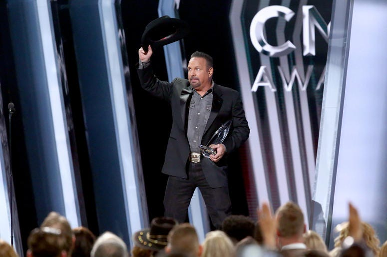 Garth Brooks at the 53rd Annual CMA Awards