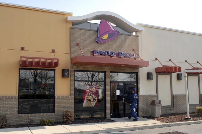 Taco Bell Restaurant Exterior