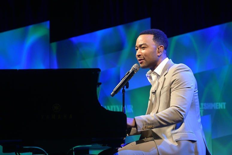 John Legend Performs at Vanity Fair's 6th Annual New Establishment Summit