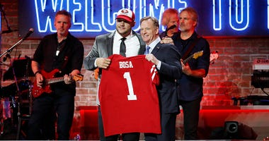 NFL Drat Mock Draft, Round One, from The Rob Brown Show