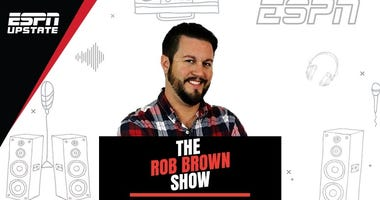 The Rob Brown Show, 12-3PM on ESPN Upstate