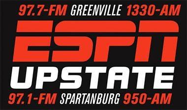 ESPN Upstate AM - Greenville Sports - WYRD-AM   Radio com