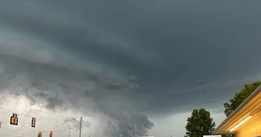 Powerful storms crossed the Upstate Monday evening.  Tony Dimsdale got a shot of what was happening in Woodruff, SC.  Spartanburg County was under a tornado warning for a short period of time Monday evening