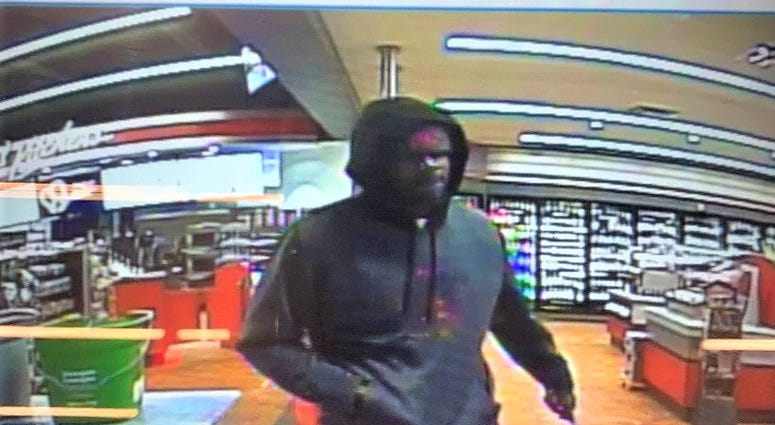 Suspect; held up Mauldin Rd. gas station
