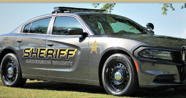 Anderson County Sheriff's Office Vehicle