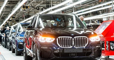 BMW Manufacturing to shutdown for two weeks beginning Sunday March 29.