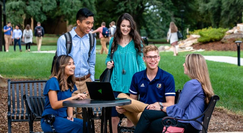 Bob Jones University students