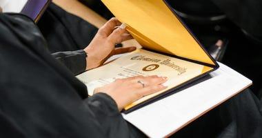Clemson Graduation - File Photo