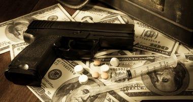 Gary Landon Medlin of Seneca jailed on drug and weapon charges
