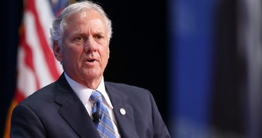 Governor of South Carolina, Henry McMaster, speaks during the Select USA Investment Summit at the Gaylord National Convention Center in Maryland on June 19, 2017. (Photo by Oliver Contreras)