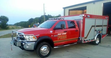 Gray Court Fire Truck - LCSO