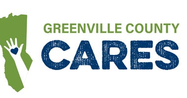 Greenville County Cares logo - $75 million grant for businesses affected by COVID-19
