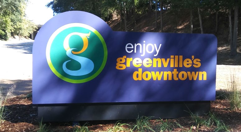 Greenville sign