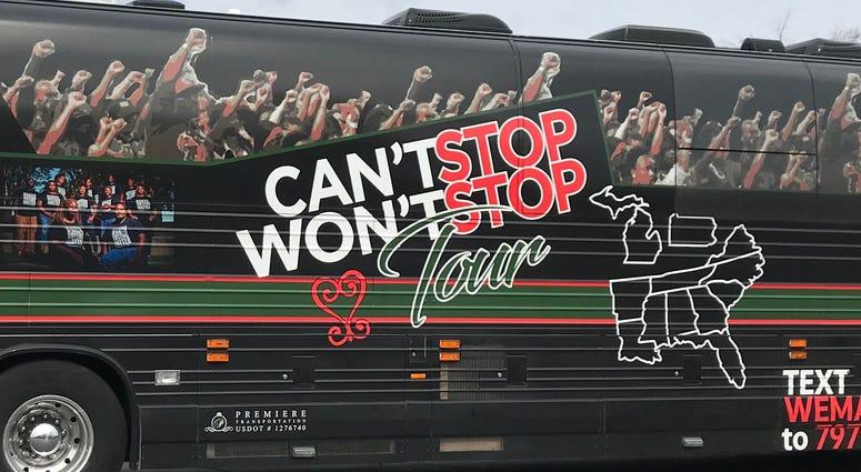 Black Voters Matter Bus