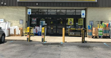 Exterior of Dollar General in Mauldin - Emily Gill