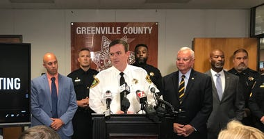 Sheriff Hobart Lewis Address the Media at Press Conference About Lavish Lounge Shooting - Emily Gill