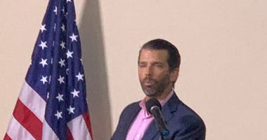 Donald Trump, Jr. Speaks at Pop-Up Event - Steve Sinicropi