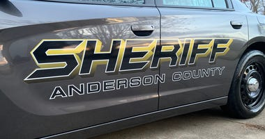 Anderson County Sheriff's Office Dodge Charger Patrol Car - File Photo