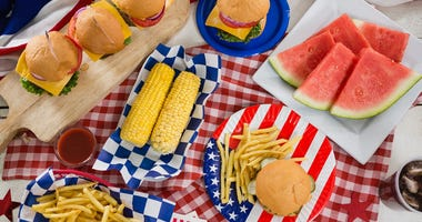 July 4th Food - Getty Images