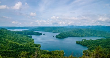 Aerial View of Lake Jocassee - Getty Images